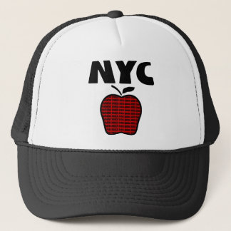 NYC - Big Apple With All 5 Boroughs Trucker Hat