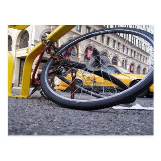 NYC Bike Post Card