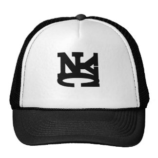 NYC BLACK TRUCKER HAT