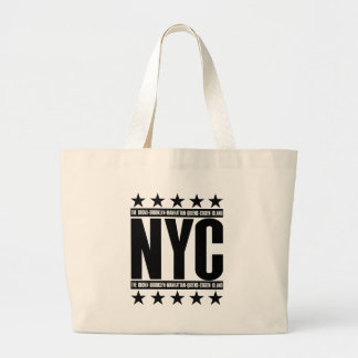 NYC Boroughs Tote Bags
