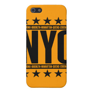 NYC Boroughs Cover For iPhone 5