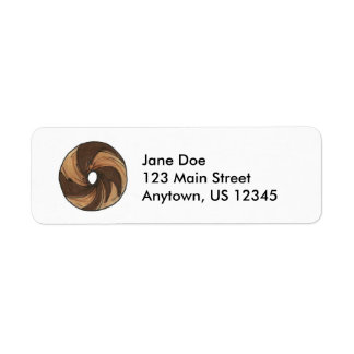 NYC Breakfast Marble Rye Bagel Bagels Labels