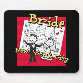 NYC Bride Mouse Pad