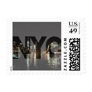 NYC Brooklyn Bridge stamps