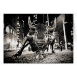 NYC Bull Felicitaciones