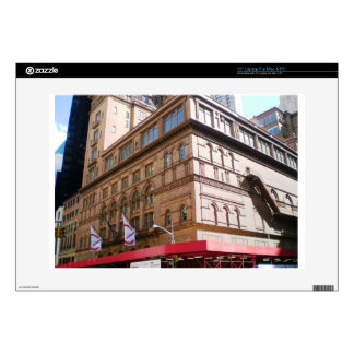 "NYC Carnegie Hall Decals For 15"" Laptops"