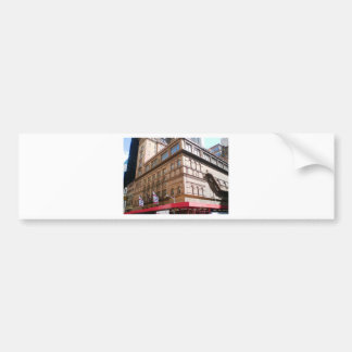 NYC Carnegie Hall Pegatina Para Auto