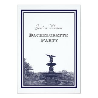 NYC Central Park Bethesda Ft DIY #2 Bachelorette Card