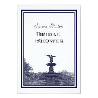 NYC Central Park Bethesda Ft DIY #2 Bridal Showr Card