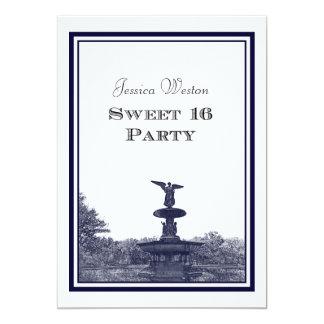 NYC Central Park Bethesda Ft DIY #2 Sweet 16 Card