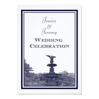 NYC Central Park Bethesda Ft DIY #2 Wedding Card