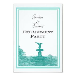 NYC Central Park Bethesda Ft DIY #4 Engagement Card