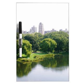NYC Central Park Skyline Dry Erase Whiteboards