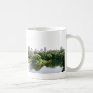 NYC Central Park Skyline Classic White Coffee Mug