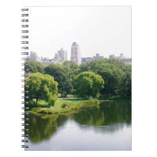 NYC Central Park Skyline Spiral Notebooks