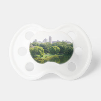 NYC Central Park Skyline Pacifier