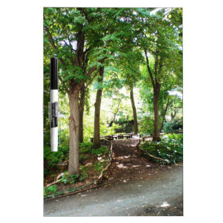 NYC Central Park Trail Dry Erase Whiteboards