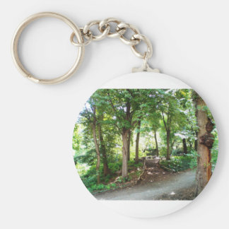 NYC Central Park Trail Keychain