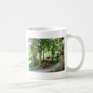 NYC Central Park Trail Classic White Coffee Mug