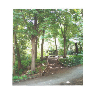 NYC Central Park Trail Note Pad