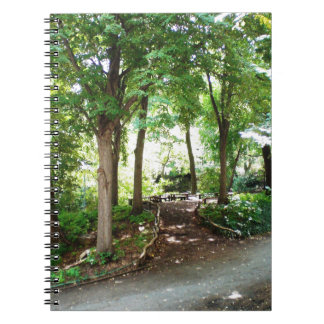NYC Central Park Trail Spiral Notebook