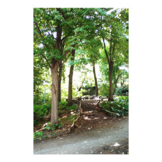 NYC Central Park Trail Stationery