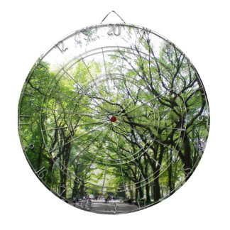 NYC Central Park Tree Tunnel Dart Board