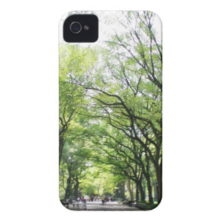NYC Central Park Tree Tunnel iPhone 4 Cover
