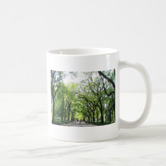 NYC Central Park Tree Tunnel Classic White Coffee Mug