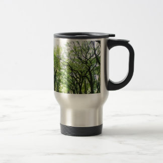 NYC Central Park Tree Tunnel 15 Oz Stainless Steel Travel Mug