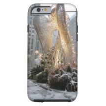 NYC Christmas Angel iPhone 6 Case