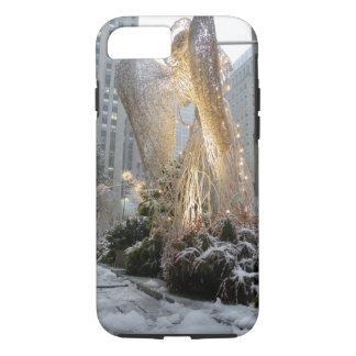 NYC Christmas Angel iPhone 7 Case