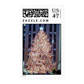 NYC Christmas Tree Stamps