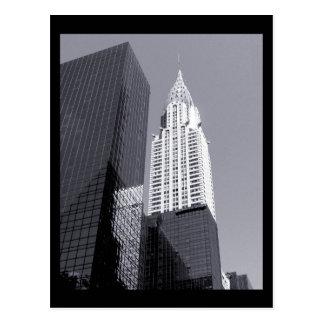 NYC Chrysler Building Postcard