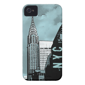 NYC Chrysler iPhone 4 Case-Mate ID Case