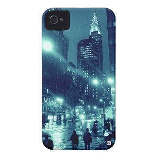 NYC Chrysler Rain iPhone 4 Case-Mate Case