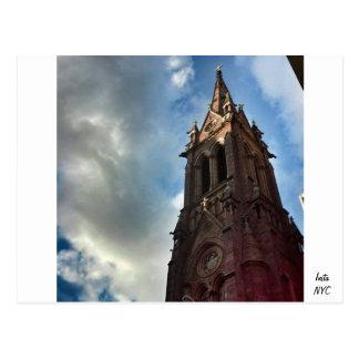 NYC Church Postcard