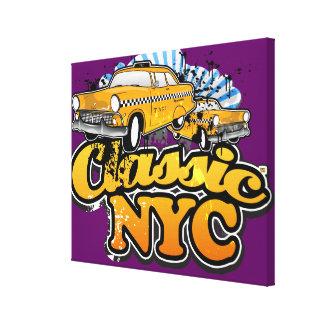 NYC clásico Lona Envuelta Para Galerías