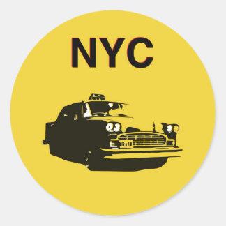 NYC CLASSIC ROUND STICKER