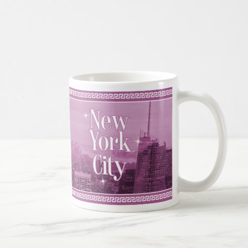 NYC COFFEE MUG, Empire State Building