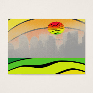 NYC Colorful Pop Art Stunning Biz CricketDiane Business Card