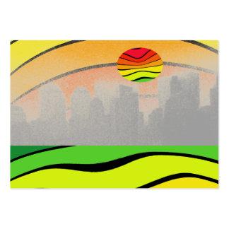 NYC Colorful Pop Art Stunning Biz CricketDiane Large Business Card
