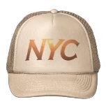 NYC con el puente de Brooklyn Gorro De Camionero