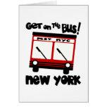 NYC, consiguen en el autobús con el autobús híbrid Tarjetón