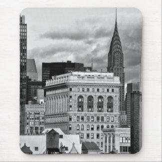 NYC Construcción de Chrysler trasera de Flatiron Alfombrilla De Raton