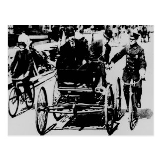 NYC Cop 1900 Postcard