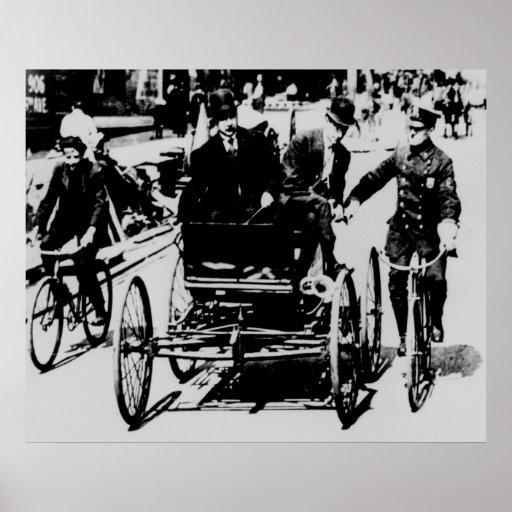 NYC Cop 1900 Poster