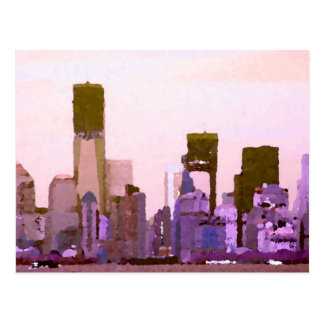 """NYC"", CricketDiane Designer Stuff Postcard"