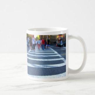 NYC Cross Walk Painting Coffee Mug