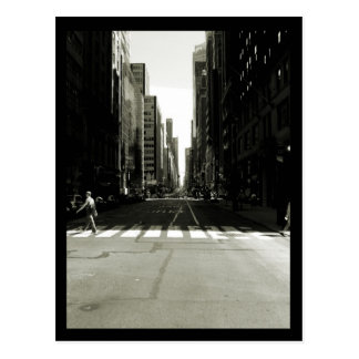 NYC Crosswalk Postcard
